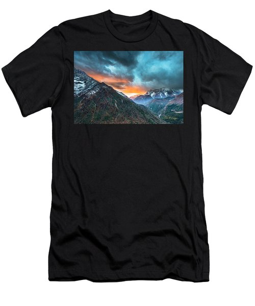 Dingboche Sunrise Men's T-Shirt (Athletic Fit)