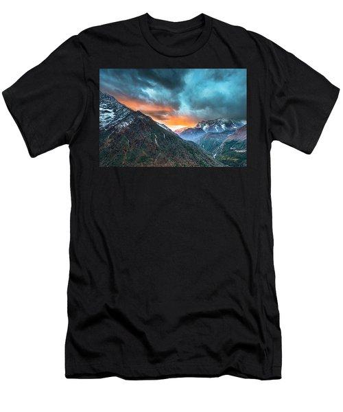 Dingboche Sunrise Men's T-Shirt (Athletic Fit)