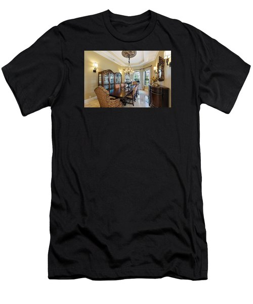 Dining Men's T-Shirt (Athletic Fit)
