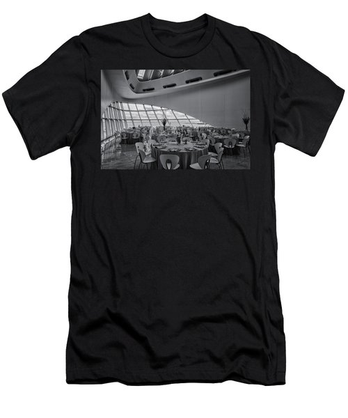 Dinner View Men's T-Shirt (Athletic Fit)
