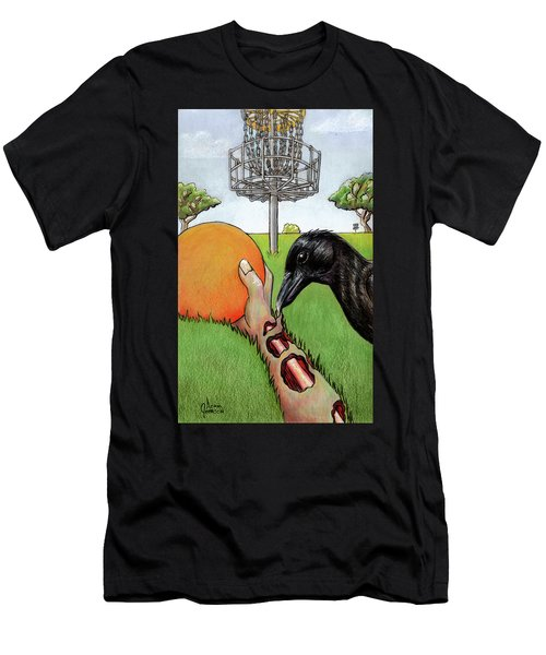 Disc Golf Nightmare Men's T-Shirt (Athletic Fit)