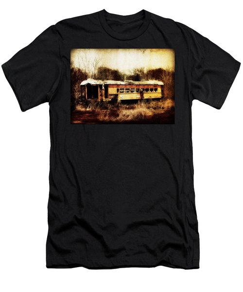 Discarded Train Men's T-Shirt (Athletic Fit)