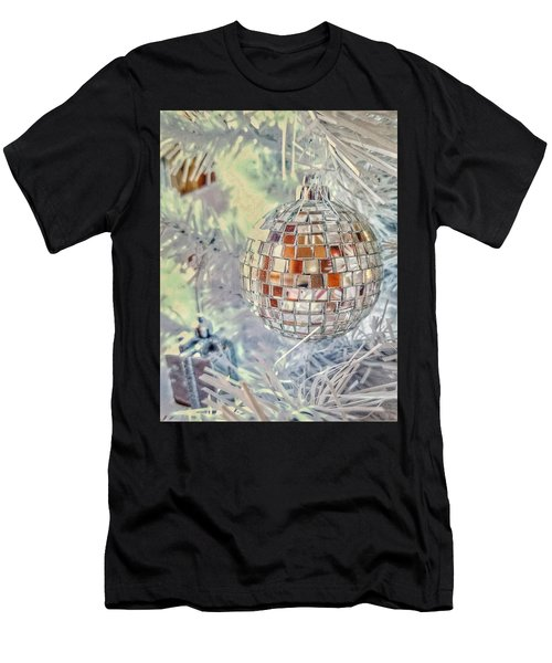 Disco Ball Tree Ornament Men's T-Shirt (Athletic Fit)