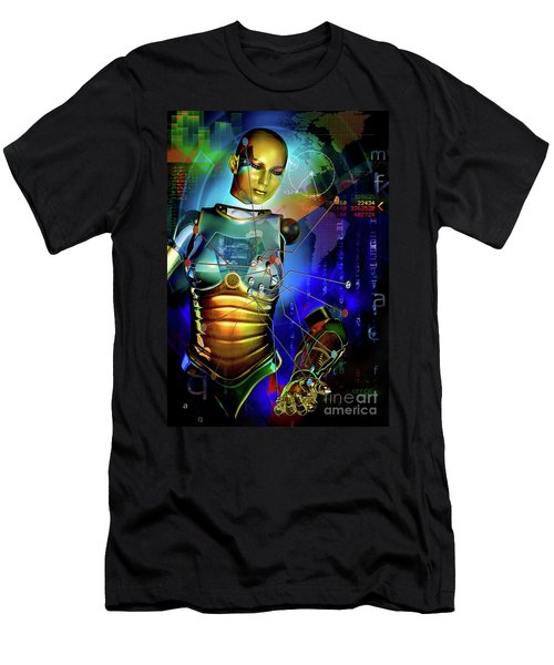 Disconnected Men's T-Shirt (Slim Fit) by Shadowlea Is
