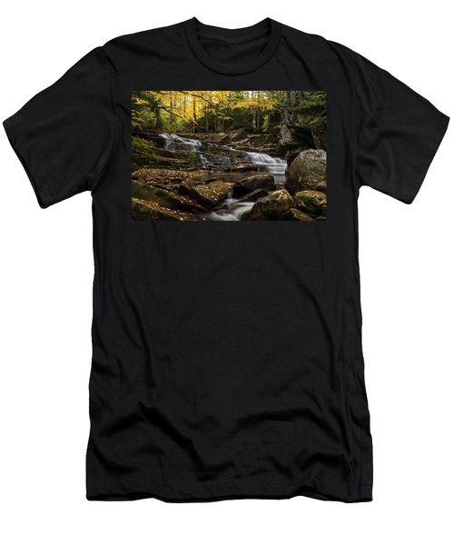 Discovery Falls Autumn Men's T-Shirt (Athletic Fit)