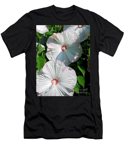 Men's T-Shirt (Slim Fit) featuring the photograph Dish Flower by Brian Jones