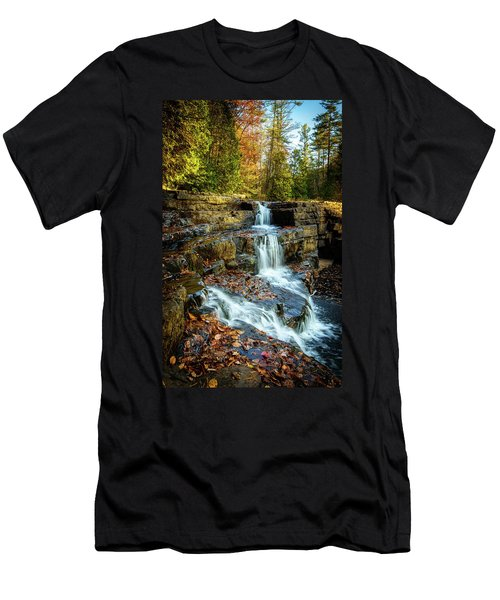 Dismal Falls #3 Men's T-Shirt (Athletic Fit)