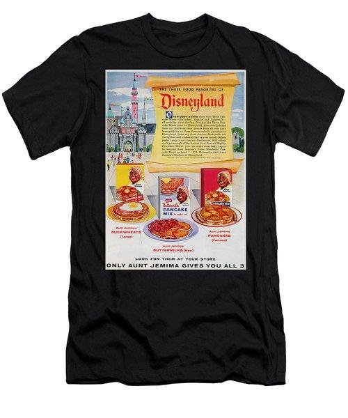 Disneyland And Aunt Jemima Pancakes  Men's T-Shirt (Athletic Fit)