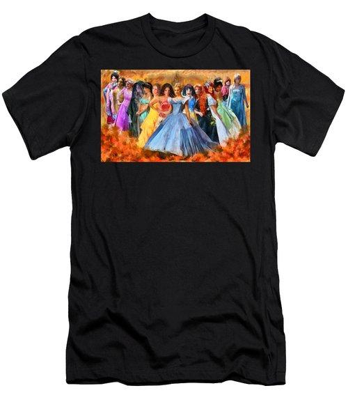 Disney's Princesses Men's T-Shirt (Athletic Fit)