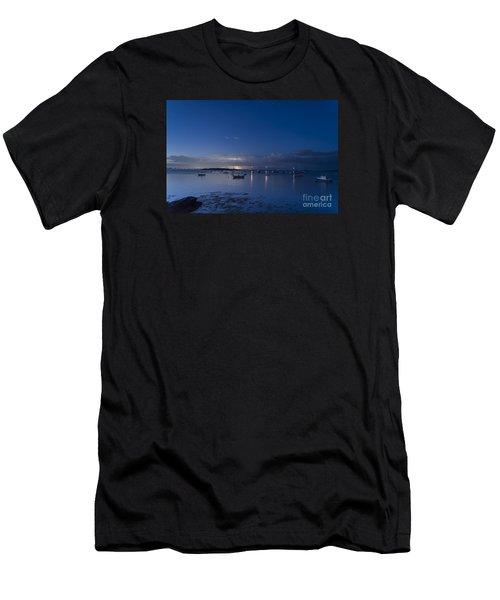 Distant Storm Men's T-Shirt (Athletic Fit)