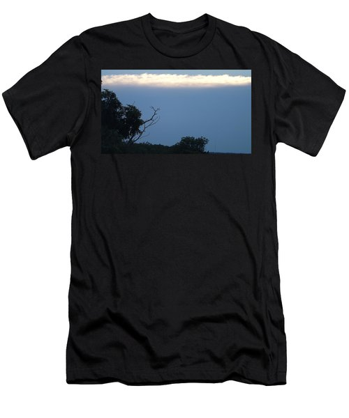 Distant White Clouds Men's T-Shirt (Slim Fit) by Don Koester