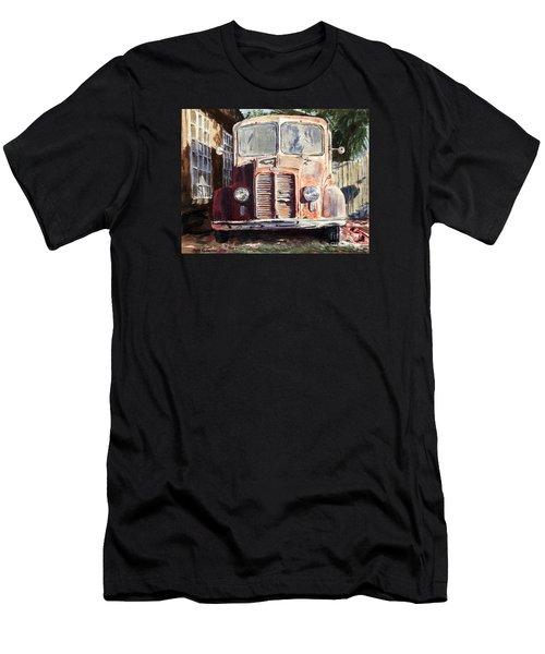 Divco Truck Men's T-Shirt (Athletic Fit)