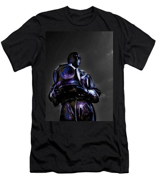 Diver Men's T-Shirt (Athletic Fit)