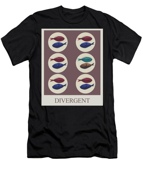 Divergent Men's T-Shirt (Athletic Fit)