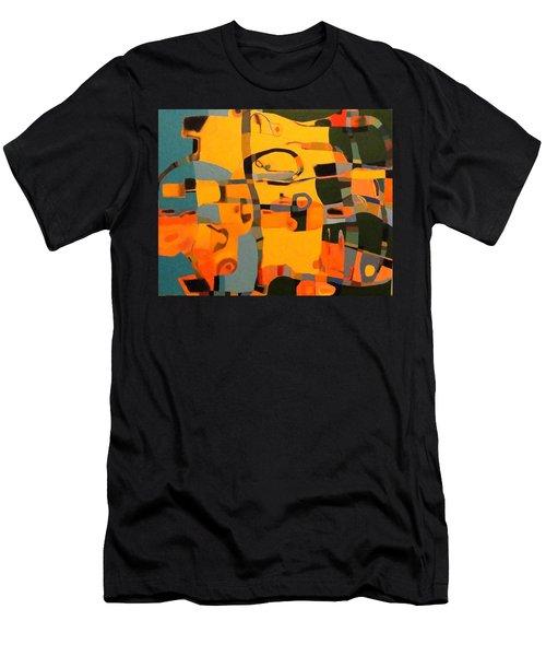 Diverging Pathways Men's T-Shirt (Athletic Fit)