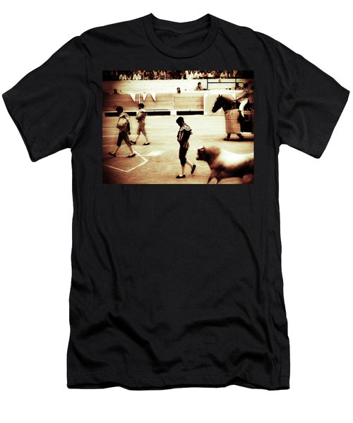 Men's T-Shirt (Athletic Fit) featuring the photograph Arles by Lucian Capellaro