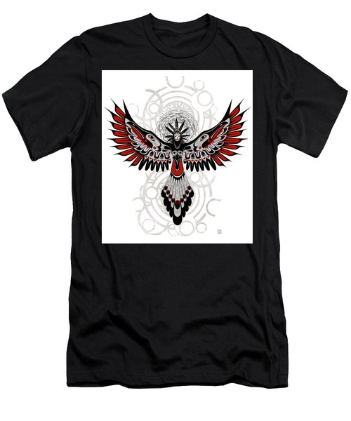 Divine Crow Woman Men's T-Shirt (Athletic Fit)
