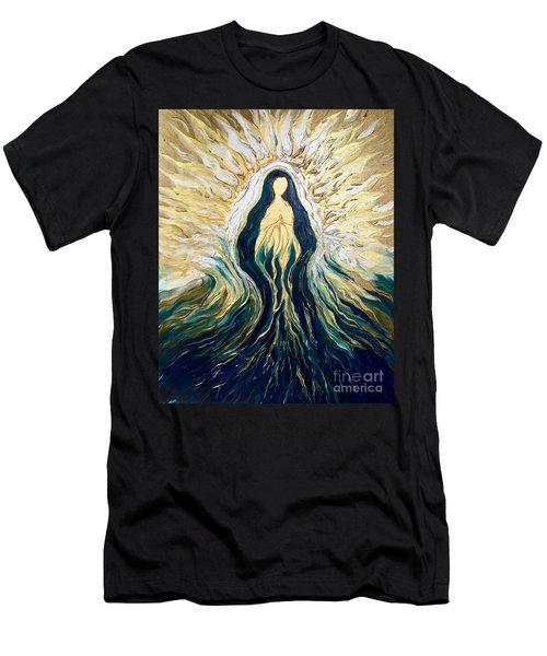 Divine Mother Men's T-Shirt (Athletic Fit)