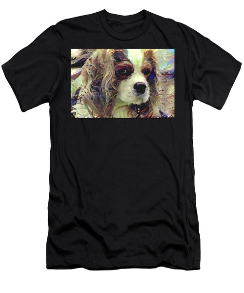 Dixie The King Charles Spaniel Men's T-Shirt (Athletic Fit)