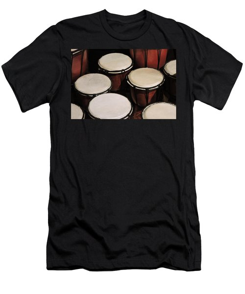 Djembe Men's T-Shirt (Athletic Fit)