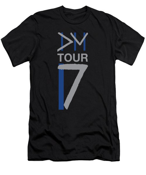Dm Tour 2017 Men's T-Shirt (Athletic Fit)