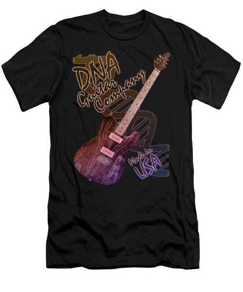 Dna Guitar Company T Shirt 2 Men's T-Shirt (Athletic Fit)