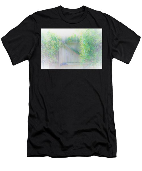 Do I Want To Leave The Garden Men's T-Shirt (Athletic Fit)