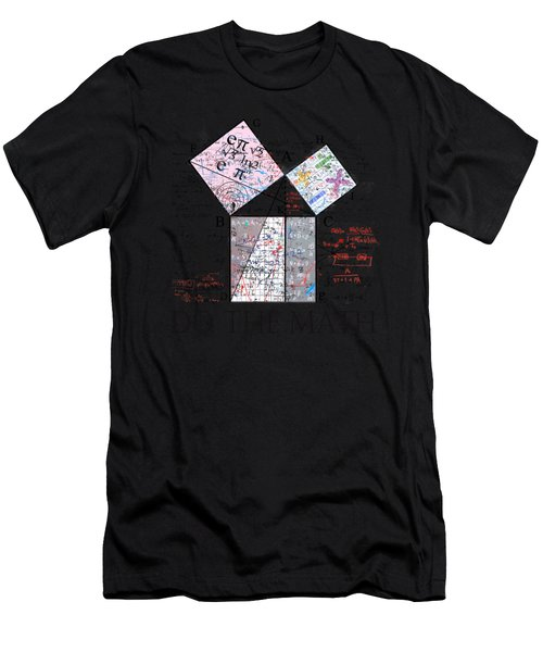 Do The Math Men's T-Shirt (Athletic Fit)