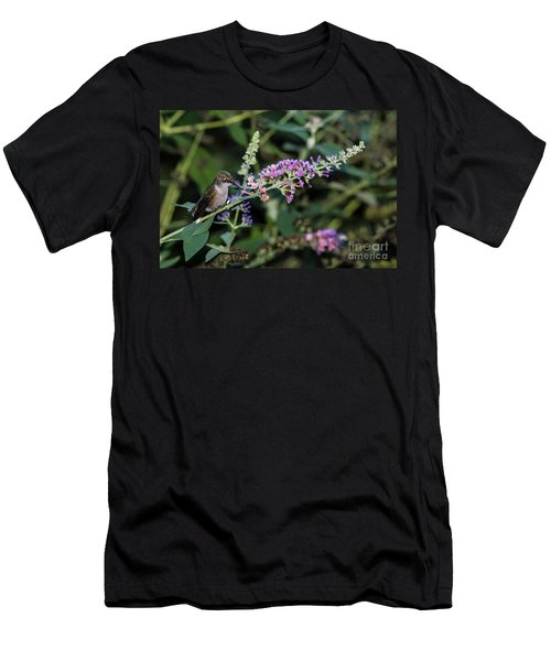 Men's T-Shirt (Slim Fit) featuring the photograph Do You Mind by Judy Wolinsky
