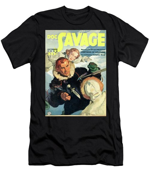 Doc Savage Fortress Of Solitude Men's T-Shirt (Athletic Fit)