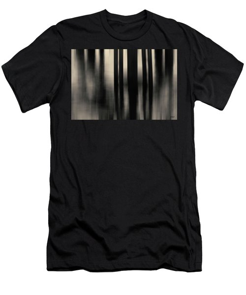 Men's T-Shirt (Athletic Fit) featuring the photograph Dock And Reflection I Toned by David Gordon