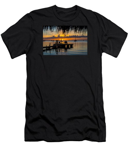 Docktime Men's T-Shirt (Slim Fit) by Kevin Cable