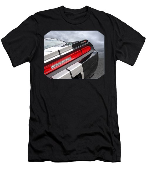 Dodge Challenger Srt Rear Detail Men's T-Shirt (Athletic Fit)