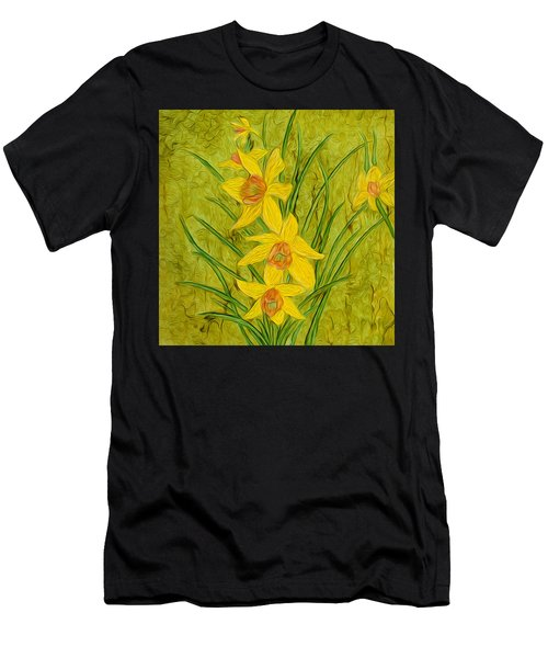 Daffodils Too Men's T-Shirt (Athletic Fit)