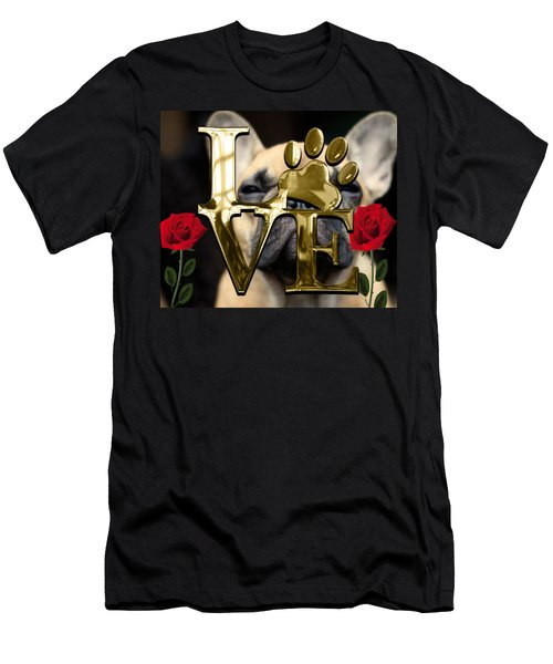 Dog Lover Collection Men's T-Shirt (Slim Fit) by Marvin Blaine