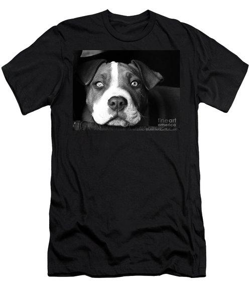 Dog - Monochrome 2 Men's T-Shirt (Athletic Fit)