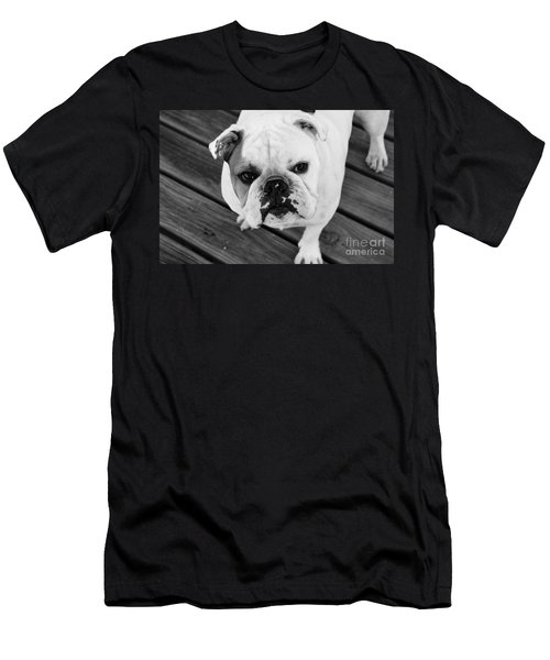 Dog - Monochrome 6 Men's T-Shirt (Athletic Fit)