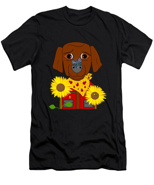 Dog Nature Lover Men's T-Shirt (Athletic Fit)