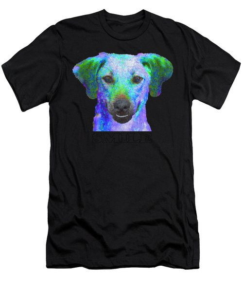 Doggy Smile Men's T-Shirt (Athletic Fit)