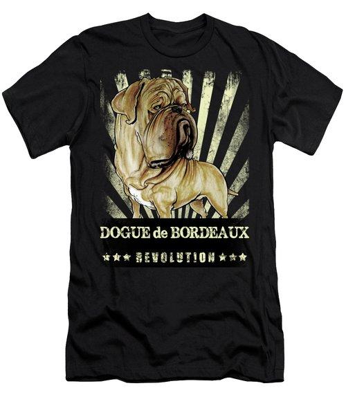 Dogue De Bordeaux Revolution Men's T-Shirt (Athletic Fit)