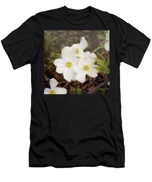 Dogwood Blossom Trio Men's T-Shirt (Athletic Fit)