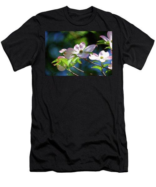 Dogwood Flowers Men's T-Shirt (Athletic Fit)