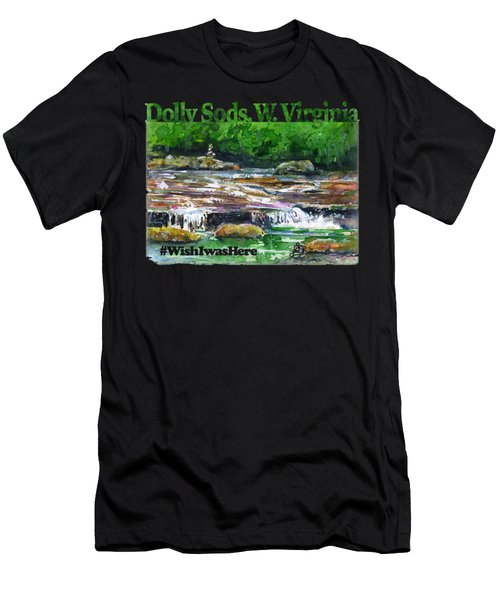 Dolly Sods Waterfalls Wv Shirt Men's T-Shirt (Athletic Fit)