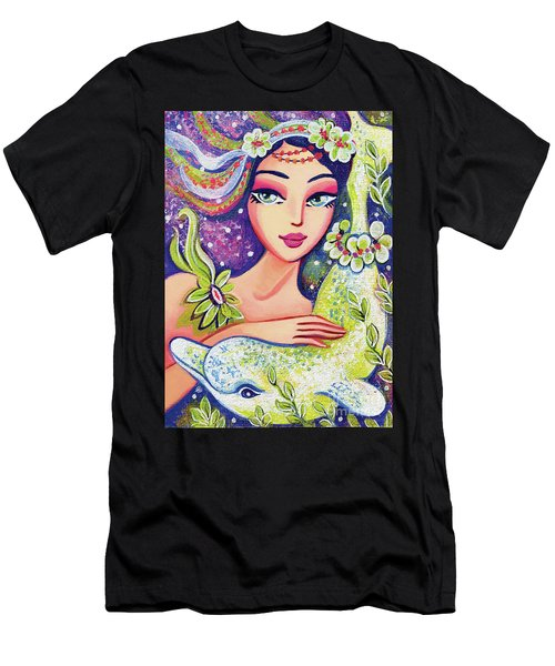 Dolphin Mermaid Men's T-Shirt (Athletic Fit)