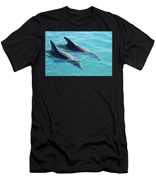 Dolphins Men's T-Shirt (Athletic Fit)