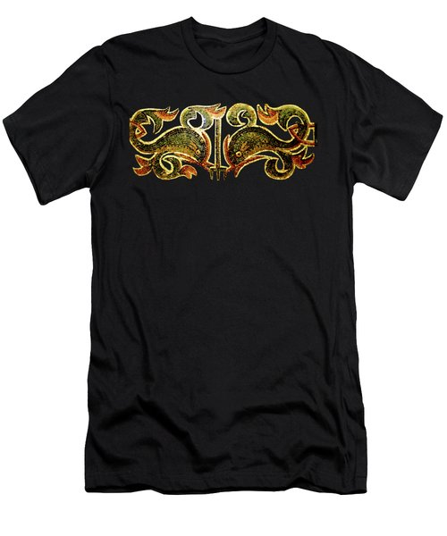 Dolphins Of Pompeii Men's T-Shirt (Athletic Fit)