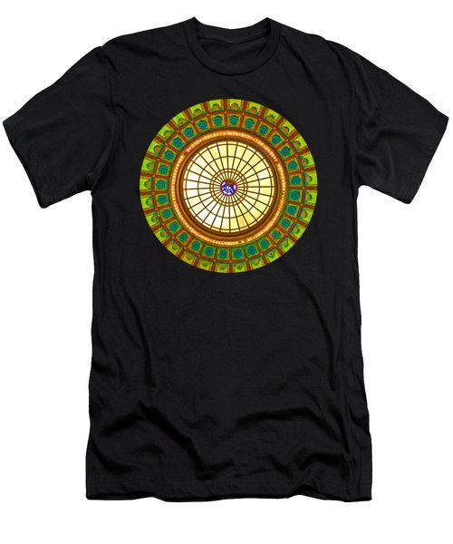 Dome Abstract 1 Men's T-Shirt (Athletic Fit)