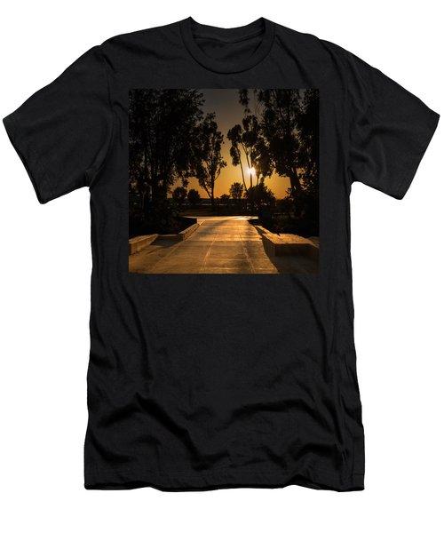 Dominguez Hills Sunset Men's T-Shirt (Athletic Fit)