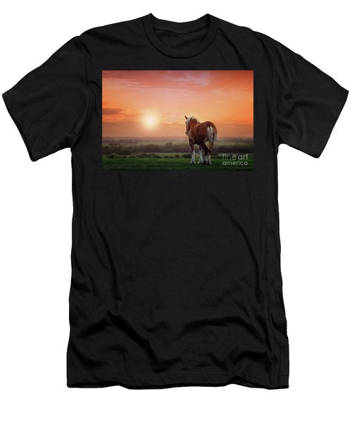 Don't Let The Sun Go Down On Me Men's T-Shirt (Slim Fit) by Tamyra Ayles