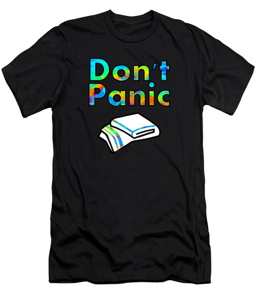 Don't Panic Men's T-Shirt (Athletic Fit)
